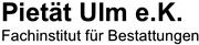 Logo Pietät Ulm