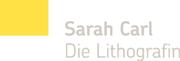 Logo Sarah Carl - Die Lithografin