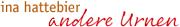Logo Ina Hattebier Andere Urnen